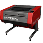 XL 9200 laser by universal laser systems